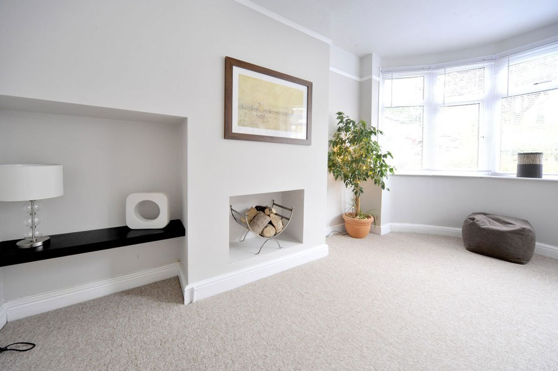 modern new carpets in a customer property